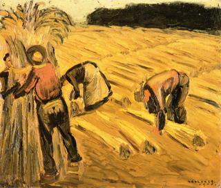 Oogstende Boeren (1905)